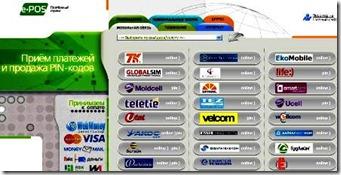 оплата банковскими картами в системе E-pos