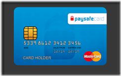 карта PaySafeCard