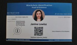блокчейн-удостоверение